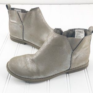 Gap Girls size 2 Ankle Boots Pewter